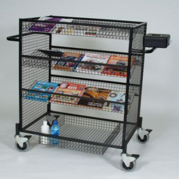 Compact News Trolley